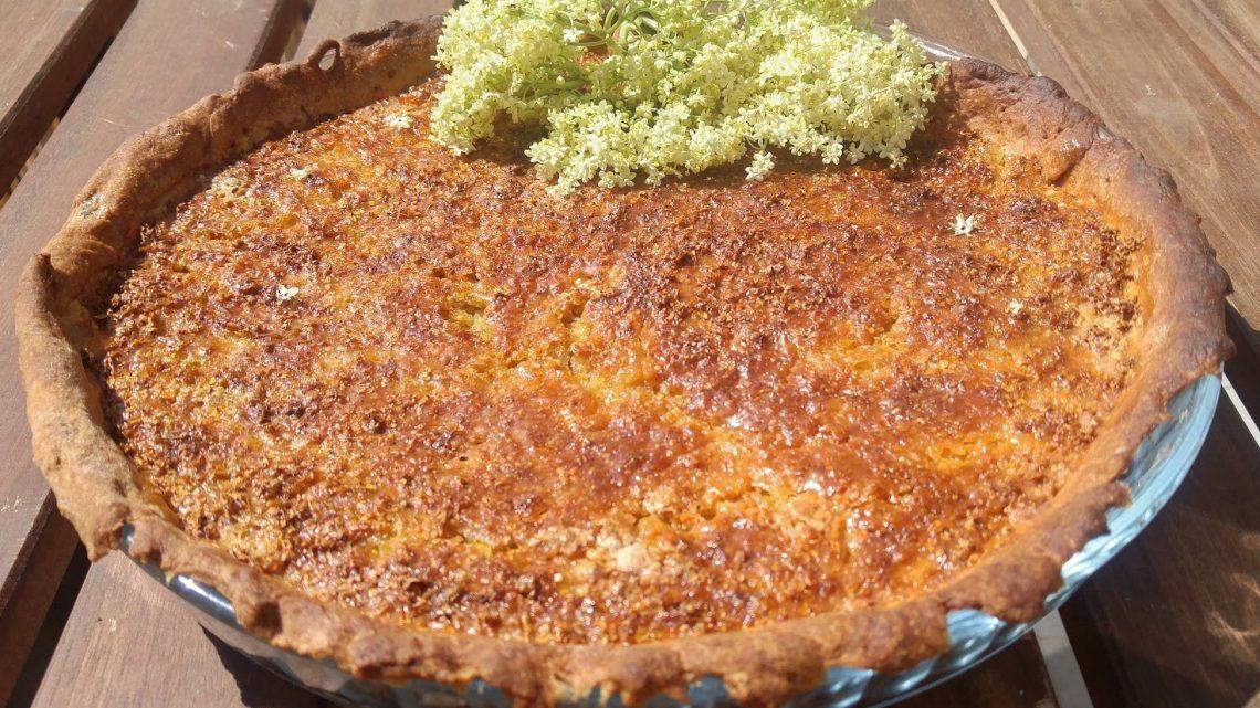 Recette tarte aux fleurs de sureau