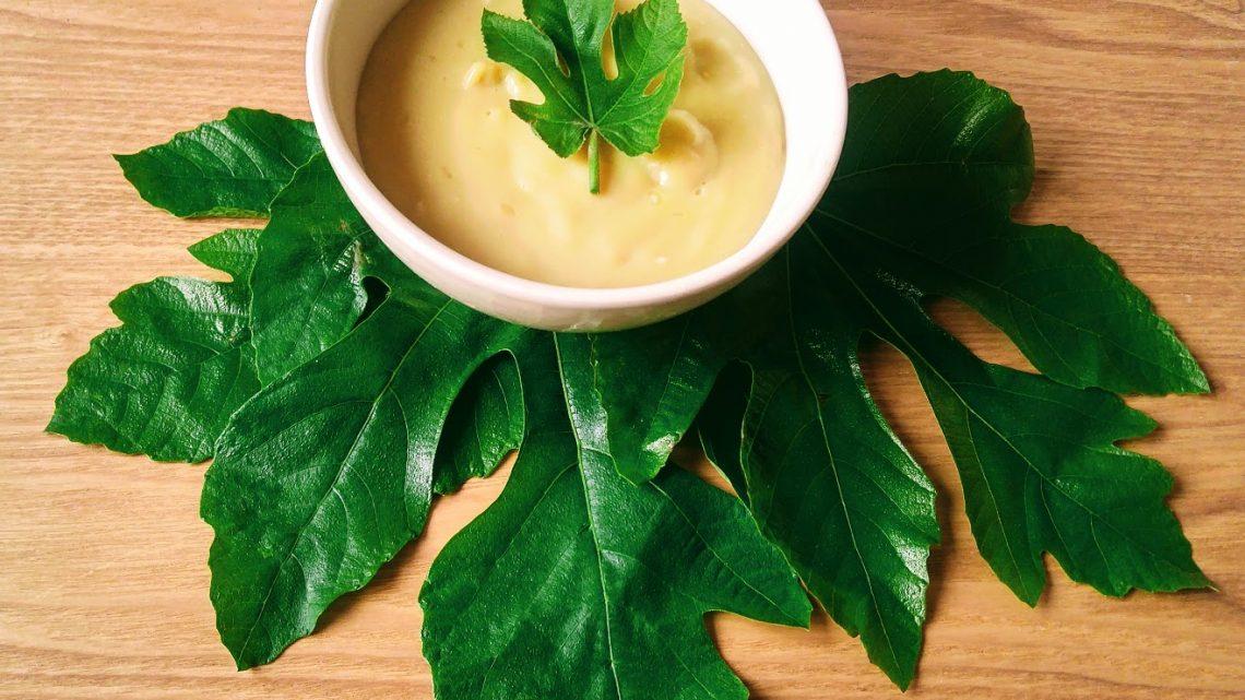 Recette : crème dessert aux feuilles de figuier